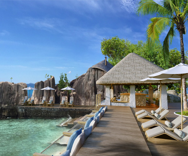 Six Senses Spa Zil Pasyon Rooms & Dining