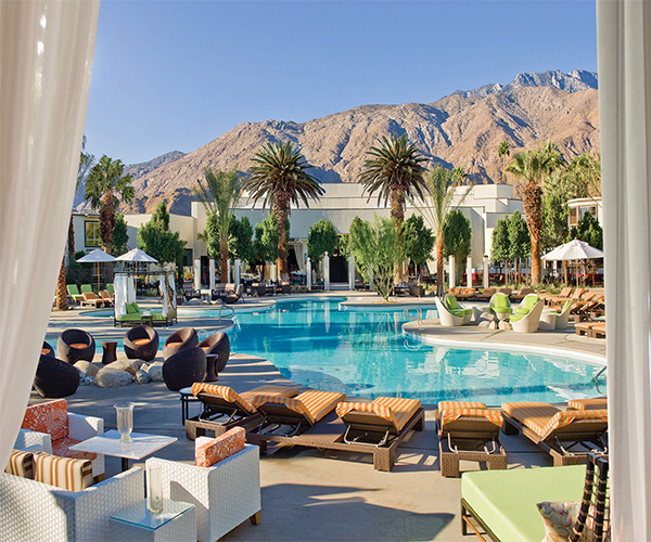 Azure Spa at The Riviera Palm Springs Rooms & Dining